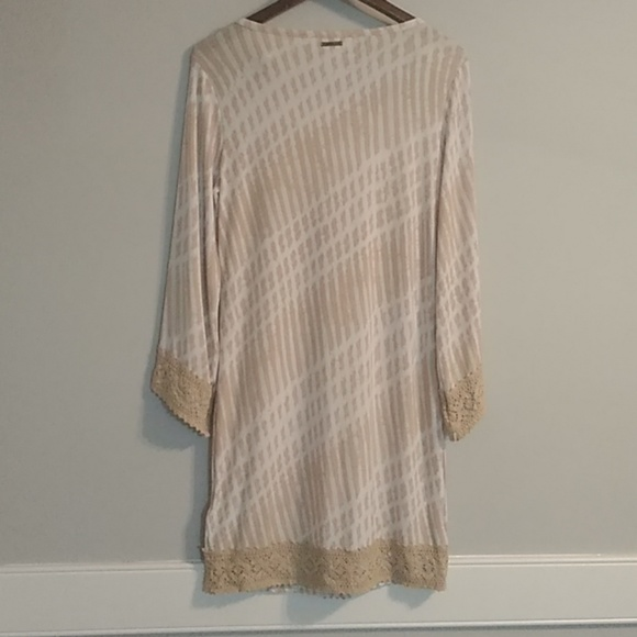 Michael Kors Dresses & Skirts - Michael kors dress cream/ tan/ small